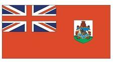 BERMUDA Flag Sticker MADE IN USA F55 YOU CHOOSE SIZE