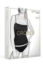 OROBLU Divine Caraco Round Spaghetti-Top Unterhemd mit Bandeau Bustier 3D