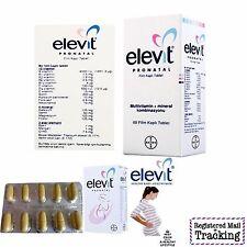 BAYER ELEVIT PRONATAL VITAMINS 60-180 TABLETS PREGNANCY AND BREASTFEEDING WOMEN
