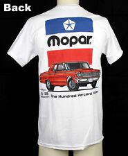Original MOPAR Classic Logo 1964 plymouth belvedere Hemi Muscle us car t-shirt