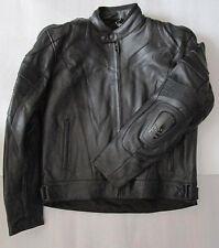 Rayven Interceptor Black Leather Armour Motorcycle Jacket £189.99 TWO LEFT