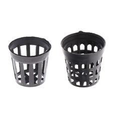 50 pcs Plastic Net Cups Pots Aquatic Plant Basket Allows Great Water Flow