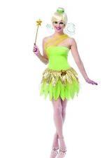 Tinkerbell Womens Adult Peter Pan Storybook Fairy Halloween Costume
