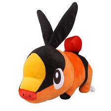"Official 9.8"" 25Cm Licensed Pokemon Tepig Plush Toys Soft Stuffed Animal Doll"