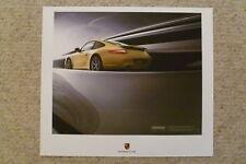 2009 Porsche Carrera Coupe Showroom Advertising Poster