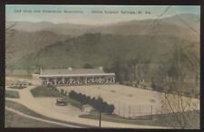 Postcard White Sulphur Springs WV Golf / Tennis Courts