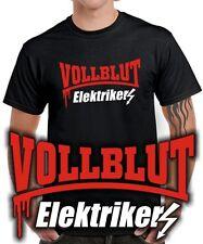 Fun t-shirt | sangre total electricista | hechizo | hobby | profesión ropa de trabajo