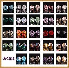 KC3 Glassperlen Glasschliffperlen BICONE Rhombe Farben 4mm/ 50 oder 100  Stück *
