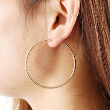 CLIP ON Spring Hoop EARRINGS look like pierced Spring Closure Fashion Women