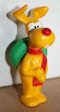 VERY RARE VTG 1983 INSPECTOR GADGET BRAIN THE DOG PVC MINI FIGURE BANDAI NEW !