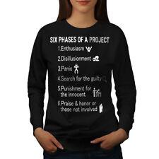 Six Phases Project Women Sweatshirt NEW   Wellcoda