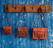 Vintage Leather Briefcase Men's Satchel Messenger Shoulder Handmade Laptop Bag