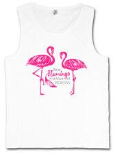 Be a Flamingo Tank Top Love principessa Flamingos Wildlife fiabe PINK ROSA