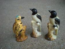3 Vintage Bird Figurines  Vintage Dime Store Finds    Estate Sale