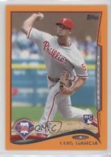 2014 Topps Factory Set Orange #451 Luis Garcia Philadelphia Phillies Card