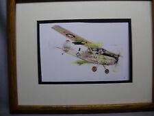 Cessna Observation Bird Dog Model Airplane Box Top Art Color artist