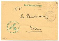 NEDERLAND 1943-7-3   DDP NIEDERLANDE  FELDPOST  FP. 07777   GROEN      VF