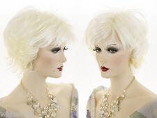 Short Blonde Brunette Red Wavy Carefree Feel Wigs