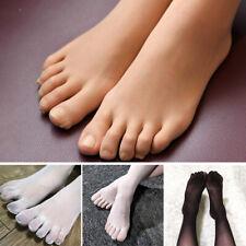 Dünne 5 Finger Separate Zehe Nude Color Strumpfhosen Strumpfwaren Nylon Nahtlos