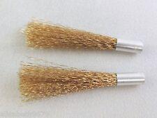 2 X recharge pour stylo outil fibre laiton maquetiste, train dessin industriel