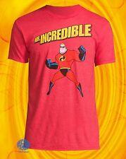 New The Incredibles Pixar Mr. Incredible Mens Classic Vintage T-Shirt