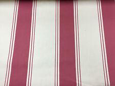 "Cambridge Ticking Stripe Natural Beige Tela De Cortina De 280cm//108/"" de Ancho /& Ivory"