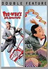 Big Top Pee Wee / Pee Wees Big Adventure (DVD, 2013, 2-Disc Set) - NEW!!