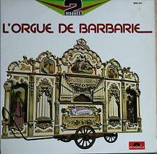 L'ORGUE DE BARBARIE 33T  2LP