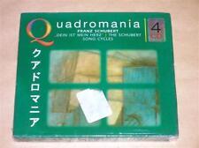 COFFRET 4 CD / FRANZ SCHUBERT / QUADROMANIA / NEUF SOUS CELLO