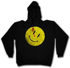 BLOODY BUTTON HOODED SWEATSHIRT HOODIE Watchmen Comedian Smiley The Wächter
