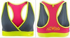 ZUMBA FITNESS DANCE!-ZWAG~RACERBACK Sports BRA Top -Yoga,Crossfit,Running-Small