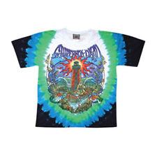 Grateful Dead Men's  Lightkeeper Tie Dye T-shirt Blue