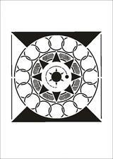 Wandschablone Maler T-shirt Schablone W-648 Quader ~ UMR Design