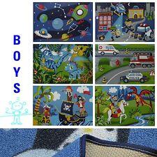 Tapis de jeu / Tapis pour enfants garçons 80x120 CM MOTIF AU CHOIX NEUF