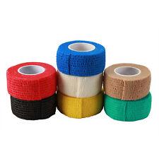 2.5cm*45cm Cohesive Bandage Elastic Self Adhesive Finger Joints Wrap Tape