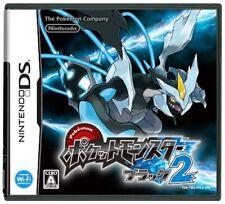 Pokemon Black 2  DSi Enhanced   Japan Import  F/S