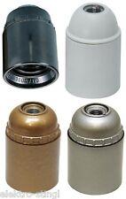 Fassung Iso-Fassung  Sockel E27 Gewinde mit Glattmantel, Lampenfassung