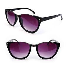 Club-Master Semi Frame Black Tortoise Women's Fashion Sunglasses