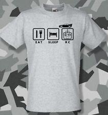 Eat Sleep RC radio controlled car t shirt hobby Tamiya Traxxas HPI Losi