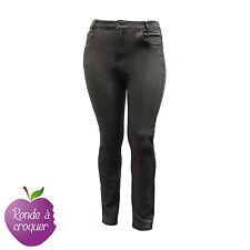 Grande taille - Jeans slim gris confort Nana belle 44 46 48 50 52 54