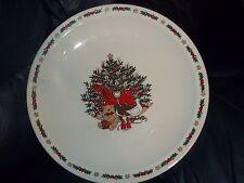 Ten Strawberry Street O Christmas Tree Platter Chop Plate EC