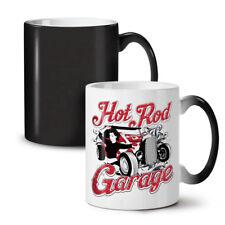 Girl Garage Hot Race Car NEW Colour Changing Tea Coffee Mug 11 oz | Wellcoda