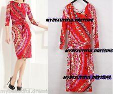 MW007974 - DESIGNER MULTICOLOUR JERSEY SILK DRESS (#303)