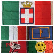 Italian 1861-1946 Flag 5x3 Italy Rome Roma Italia WW1 WW2 Savoy King Monarchy bn