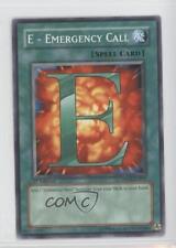2007 Yu-Gi-Oh! Jaden Yuki 2 #DP03-EN017 E Emergency Call - YuGiOh Card