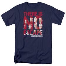 CRIMINAL MINDS NO ESCAPE T-Shirt Men's Short Sleeve