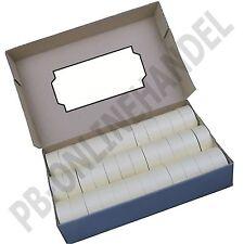 Etiketten 26x12mm für Auszeichner Preisauszeichner Handauszeichner 26x12 weiss