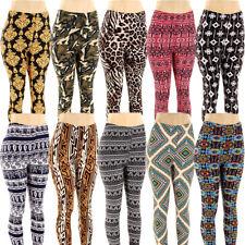 Plus Size Print Leggings Graphic Stretchy Pants Fashion One Size Fits XL 2XL 3XL