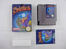 Nintendo NES solsticio BOXED PAL un