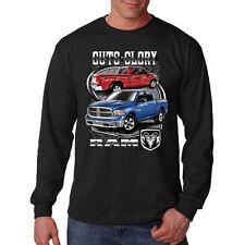 Guts Glory Ram Trucks Tough Dodge Chrysler Auto Long Sleeve T-Shirt